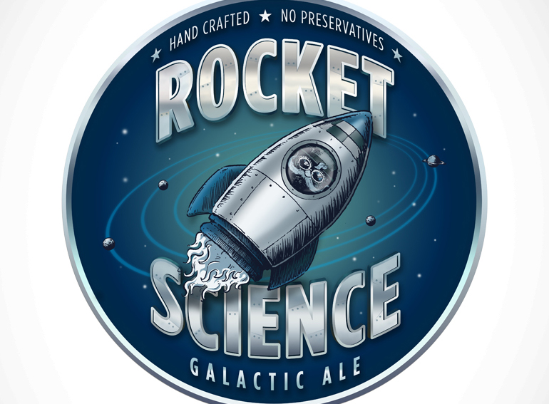 Rocket Science Galactic Ale logo
