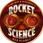 Rocket Science Red Planet logo